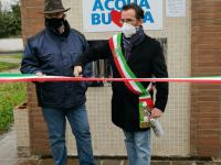 Inaugurato il fontanello di Acque SpA a Metato